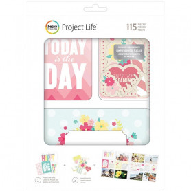 Cartes Project Life Note to self 71 pcs - Becky Higgins