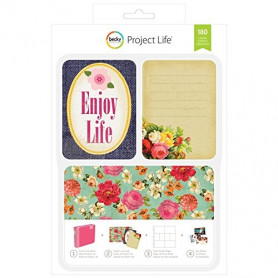 Cartes Project Life Enjoy Life 180 pcs - Becky Higgins