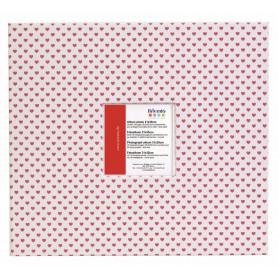 Album scrapbooking 30x30 cm Coeur rouge - Artemio