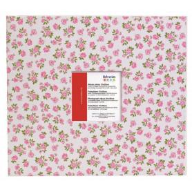 Album scrapbooking 30x30 cm Fleurs roses - Artemio