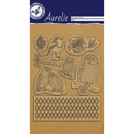 Tampons Winter - Clear Stamp Aurelie
