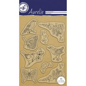 Tampons Botanical garden - Clear Stamp Aurelie