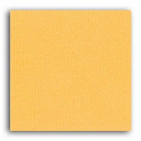 Papier 30x30 Texturé Jaune safran –  Mahé2 de Toga