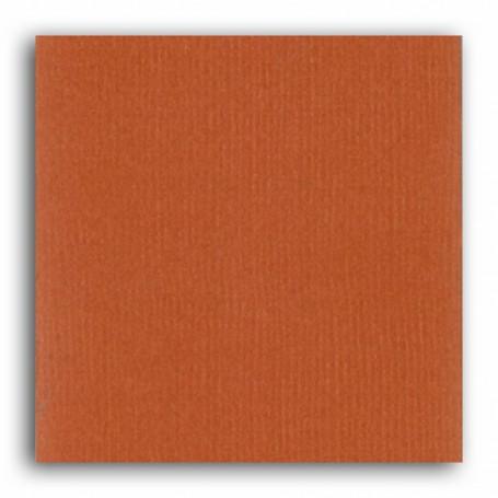 Papier 30x30 Texturé Terre cuite –  Mahé2 de Toga