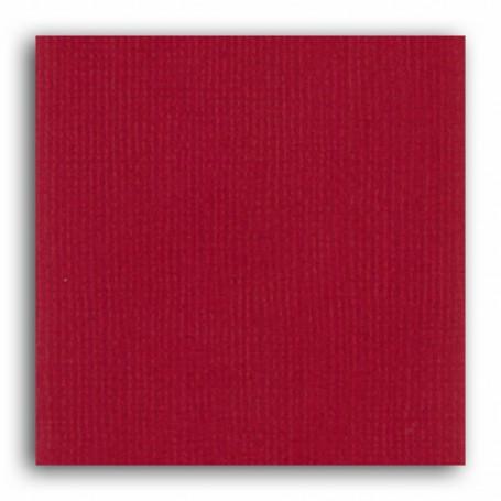 Papier 30x30 Texturé Rouge cerise –  Mahé2 de Toga