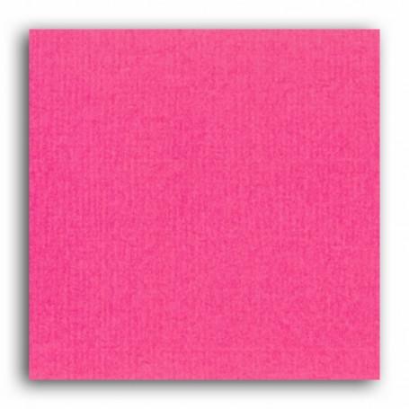 Papier 30x30 Texturé Fuchsia –  Mahé2 de Toga