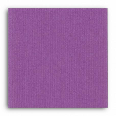 Papier 30x30 Texturé Violet orchidée –  Mahé2 de Toga