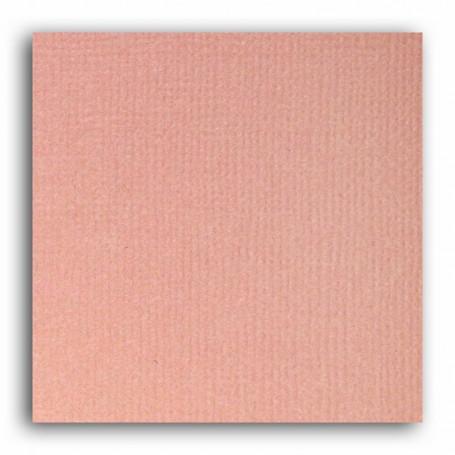 Papier 30x30 Texturé Rose blush –  Mahé2 de Toga