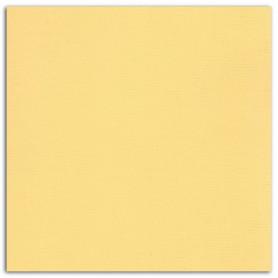 Papier 30x30 Texturé Jaune pastel – Mahé2 de Toga