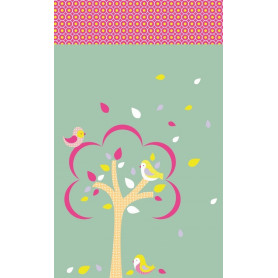 Mini carnet 7x11 cm Plumes - Artemio
