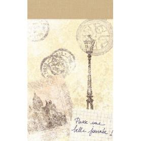 Mini carnet 7x11 cm Paris - Artemio