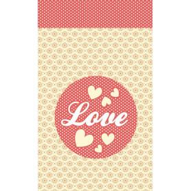 Mini carnet 7x11 cm Love - Artemio