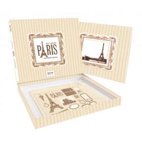Kit scrapbooking Album Paris - Artémio