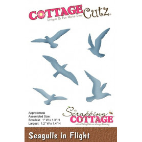 Dies mouettes - CottageCutz - Scrapping Cottage Die Seagulls in Flight