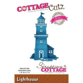 Die Phare - CottageCutz - Scrapping Cottage Die lighthouse