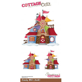 Die Candy Mill - CottageCutz - Scrapping Cottage