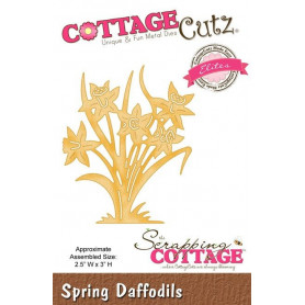Die Spring Daffodils - CottageCutz - Scrapping Cottage