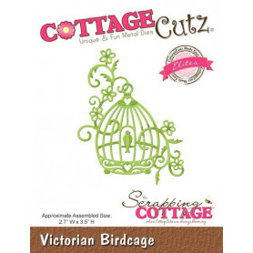Die Victorian Birdcage - CottageCutz - Scrapping Cottage