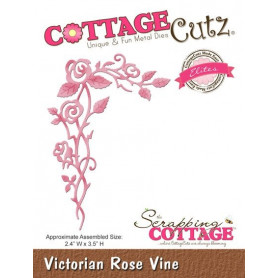 Die Victorian Rose Vine - CottageCutz - Scrapping Cottage