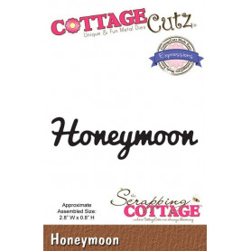 Die Honeymoon - CottageCutz - Scrapping Cottage