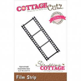 Die Pellicule - CottageCutz - Scrapping Cottage Die Film strip