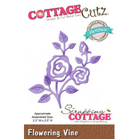 Die Flowering Vine - CottageCutz - Scrapping Cottage