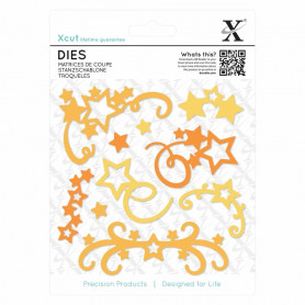Dies Star Flourish 10pc - Xcut