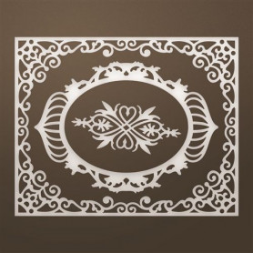 Dies Livi Frames & Flourish Set 3pc - Ultimate Crafts