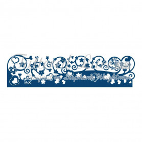 Dies Sweetness Border 1 pc - Tattered Lace