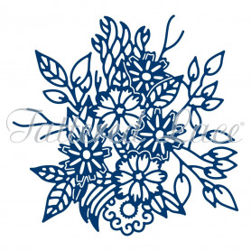 Die Floral posy 1 pc - Tattered Lace