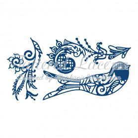 Dies Build a bird phoenix 3 pc - Tattered Lace