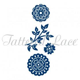 Dies Mini Petals 4 pc - Tattered Lace