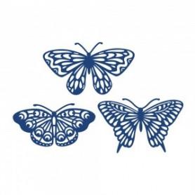 Dies Burrerflies 3pc - Tattered Lace