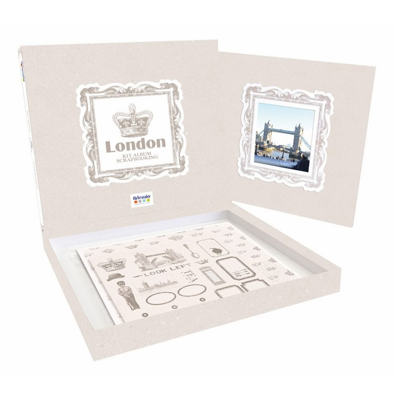 Kit scrapbooking Album London - Artémio