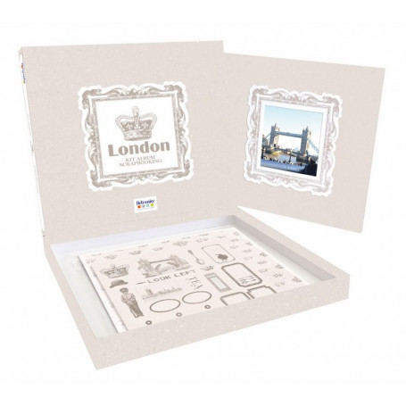 Kit scrapbooking Album London - Artémio
