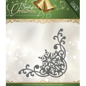 Die Snowflake Corner - Spirit of Christmas - Precious Marieke