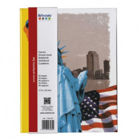 Carnet smash book 19,5x26 cm New-York - Artemio