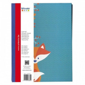 Carnet smash book 19,5x26 cm Graphic Time - Artemio