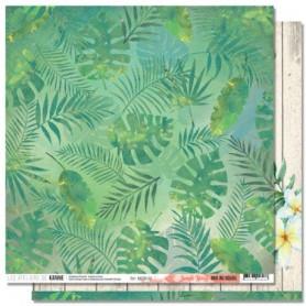 Papier 30x30 Jungle Story 1f - RDV au soleil - Les ateliers de Karine