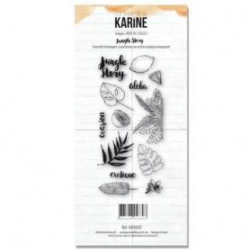 Tampons Jungle Story - RDV au soleil - Les ateliers de Karine