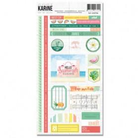 Stickers RDV au soleil - Les ateliers de Karine