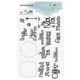 Tampons Offrir - Mix'Créatif 3 – Diy & Cie