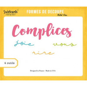 Dies Complices 4 pc - Swirlcards