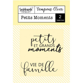 Tampons Petits Moments – Swirlcards