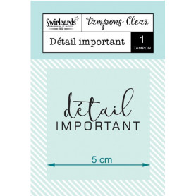 Tampon Détail important – Swirlcards