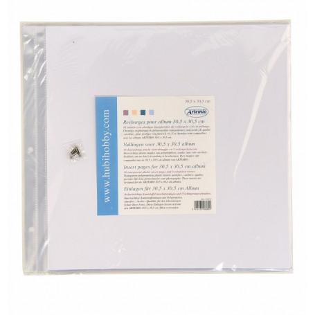 Recharges pour album 30,5 x 30,5 cm - Artémio