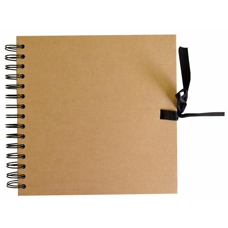 Album scrapbooking kraft naturel 30,5 x 30,5 cm - Artémio