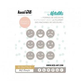 Die métaliks Emojis - Kesi'art