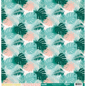 Papier 30x30 Windansea 1f - Collection Summer Vibes Kesi'art