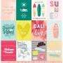 Papier 30x30 Jolla Cove 1f - Collection Summer Vibes Kesi'art
